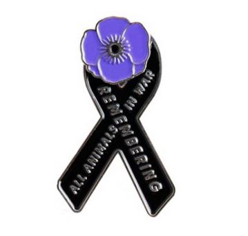 Purchase a Pin to Support the Creation of an Australian War Dog Memorial