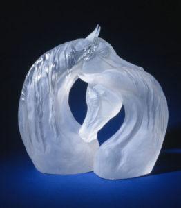 Acrylic Horse Sculpture