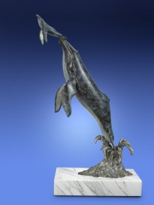 Bronze Fine Art Whale Sculpture