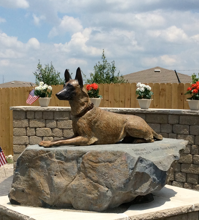 Fine Art Sculpture - War Dog Memorial